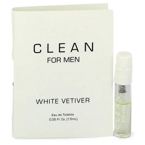Clean White Vetiver by Clean, Vial (sample) 0.05 oz