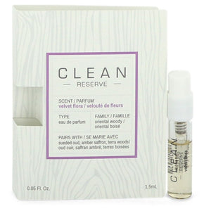 Clean Velvet Flora by Clean, Vial (sample) (Women)  0.05 oz