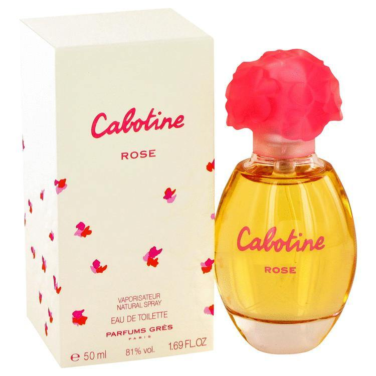 Cabotine Rose by Parfums Gres, Eau De Toilette Spray (Women)  1.7 oz - FragranceB&B