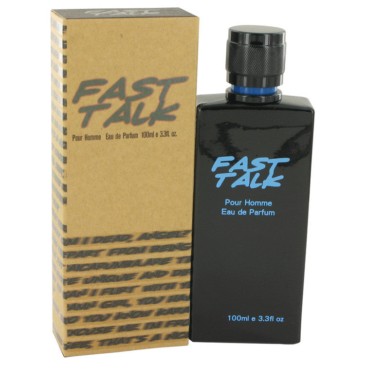 Fast Talk by Erica Taylor, Eau De Parfum Spray (Men)  3.4 oz