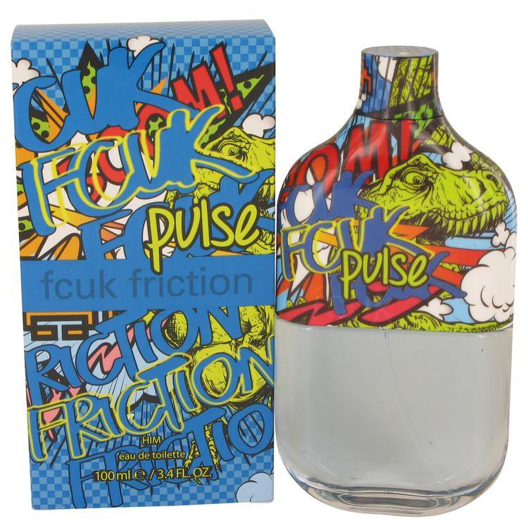 Fcuk Friction Pulse by French Connection, Eau De Toilette Spray (Men)  3.4 oz