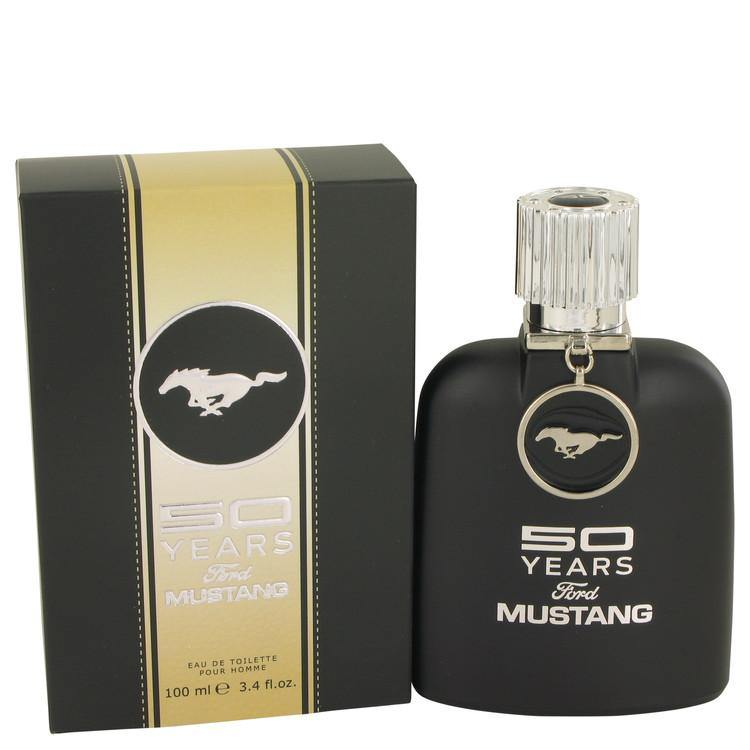 50 Years Ford Mustang by Ford, Eau De Toilette Spray (Men)  3.4 oz