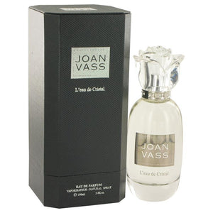 L'eau De Cristal by Joan Vass, Eau De Parfum Spray (Women)  3.4 oz