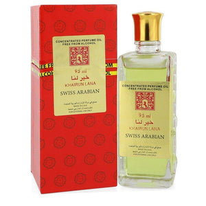 Khairun Lana by Swiss Arabian, Concentrated Perfume Oil Free From Alcohol (Unisex) (Women)  3.2 oz