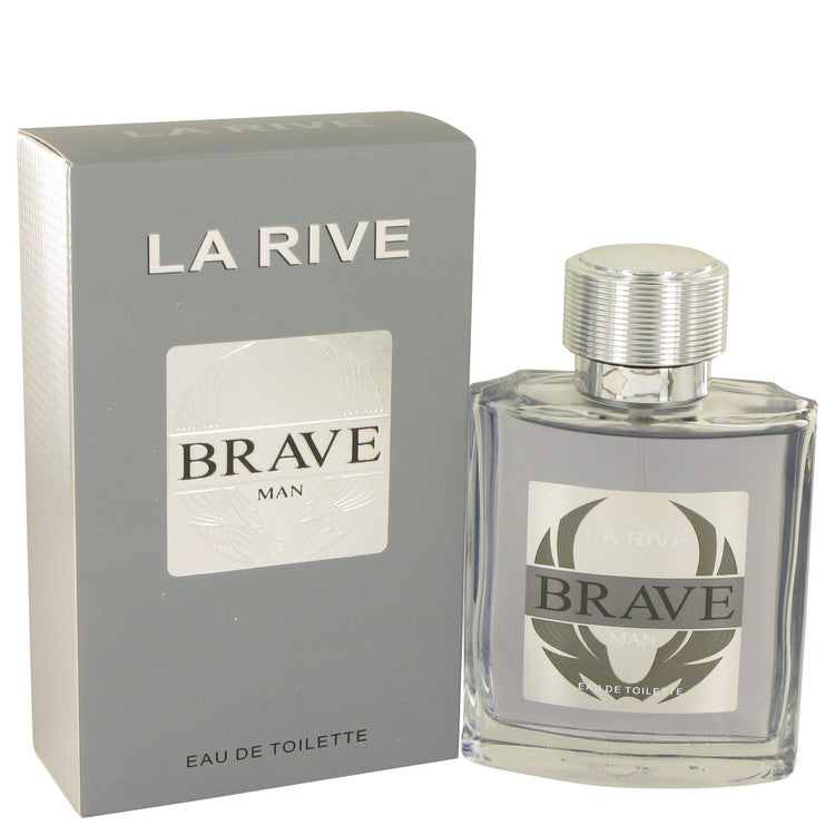 La Rive Brave by La Rive, Eau DE Toilette Spray (Men)  3.3 oz