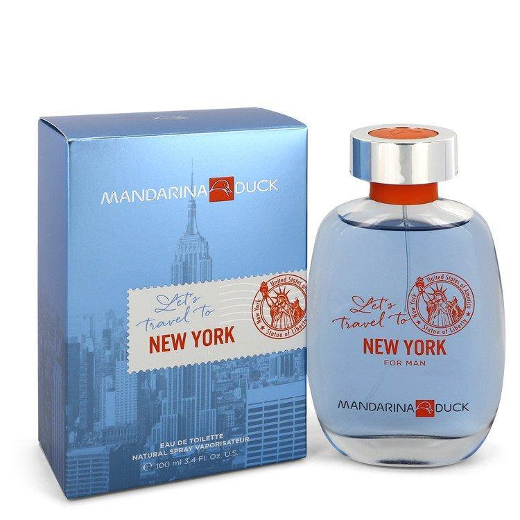 Mandarina Duck Let's Travel To New York by Mandarina Duck, Eau De Toilette Spray (Men)  3.4 oz
