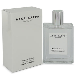 Muschio Bianco (white Musk/moss) by Acca Kappa, Eau De Cologne Spray (Unisex) 3.3 oz