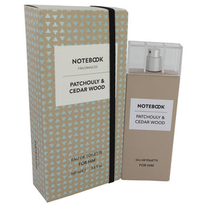 Notebook Patchouly & Cedar Wood by Selectiva SPA, Eau De Toilette Spray 3.4 oz
