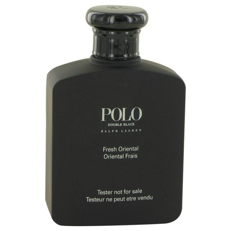 Polo Double Black by Ralph Lauren, Eau De Toilette Spray (Tester) (Men)  4.2 oz - FragranceB&B