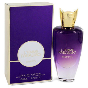 L'femme Paradiso by Riiffs, Eau De Parfum Spray (Women)  2.7 oz