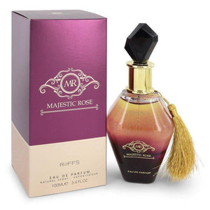 Majestic Rose by Riiffs, Eau De Parfum Spray (Unisex) (Women)  3.4 oz