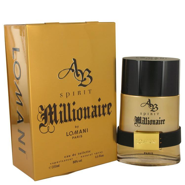 Spirit Millionaire by Lomani, Eau De Toilette Spray (Men)  6.7 oz