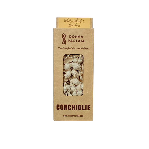 Conchiglie - Wholewheat & Semolina (V/Eggless)
