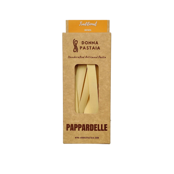 Pappardelle - Traditional Egg Pasta