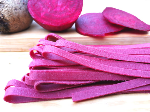 'UpBeet' Fettuccine - Wholewheat & Semolina with Beetroot (Eggless)