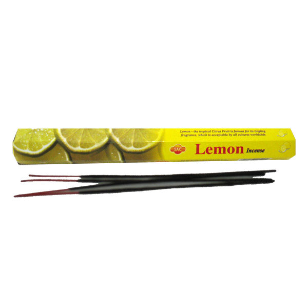 Lemon incense hex box