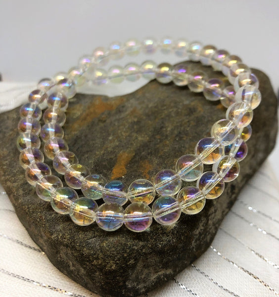 Angel Aura Quartz Clearing Bracelet