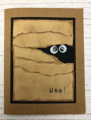 Handmade card - Halloween Mummy