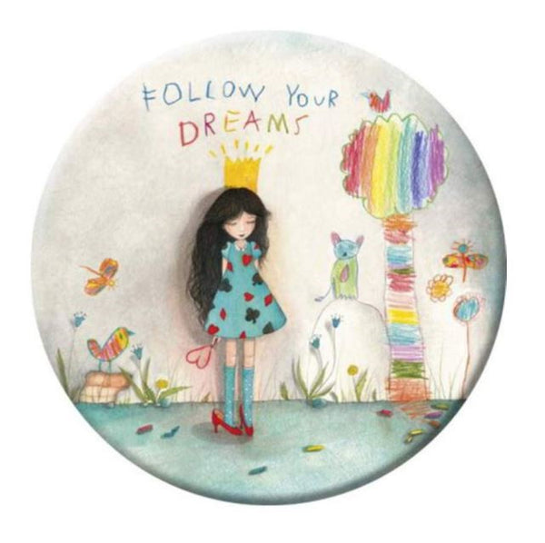 Follow Your Dreams Correspondence Magnet