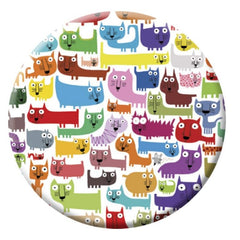 Crazy Cats Correspondence Magnet
