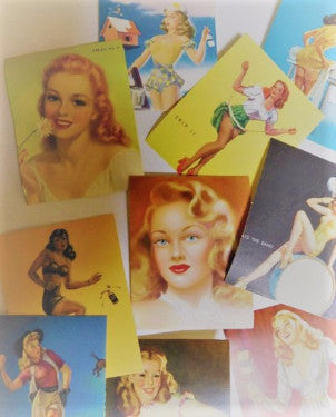 Pinup Girl Stickers #1