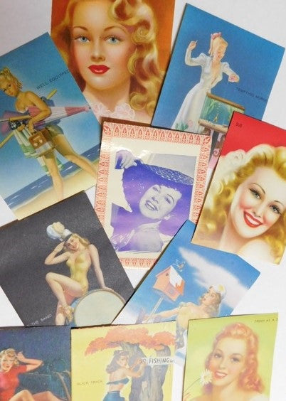 Pinup Girl stickers #2