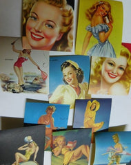 Pinup Girl stickers #6