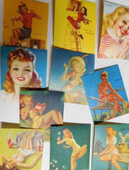 Pinup Girl stickers #8