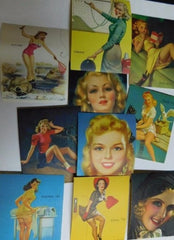 Pinup Girl stickers #10