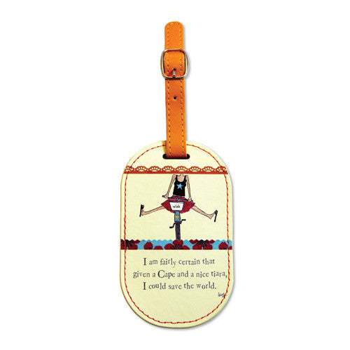 Fairly Certain - Luggage Tag