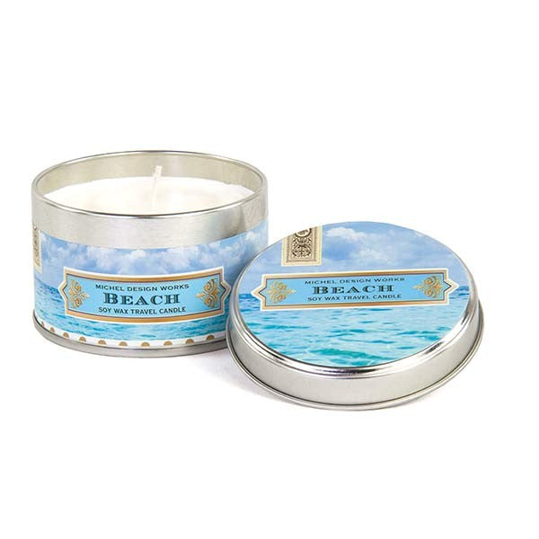Beach Travel Candle- Michel Design Works