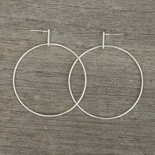 Large Hoop earrings - Bauxo