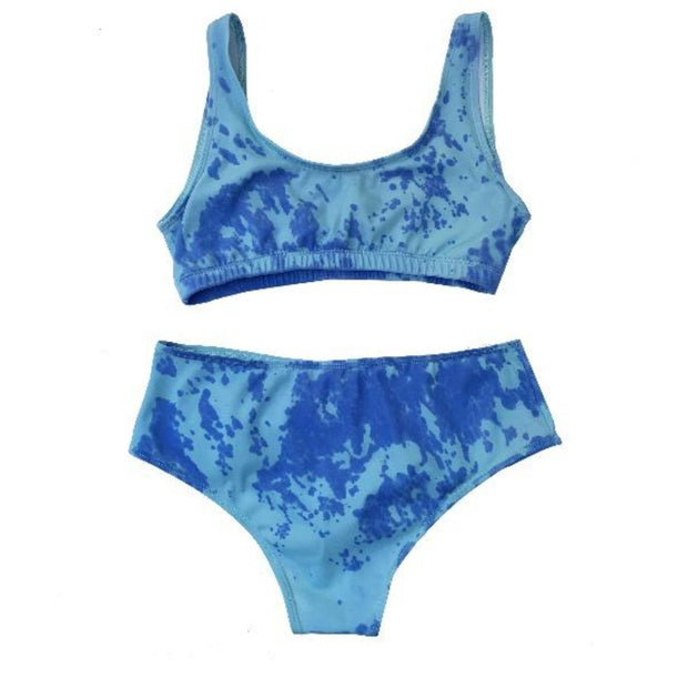 Color Changing Kameleon High Waisted Bikinis