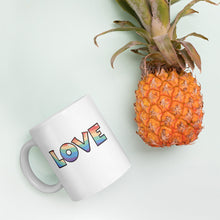 Load image into Gallery viewer, Love and Unicorn Mug, 11 oz.