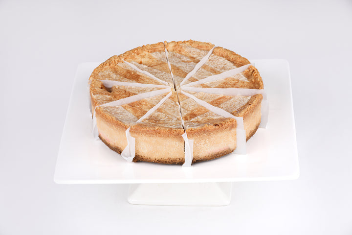 Peach Cobbler Cheesecake - Lucki's Gourmet
