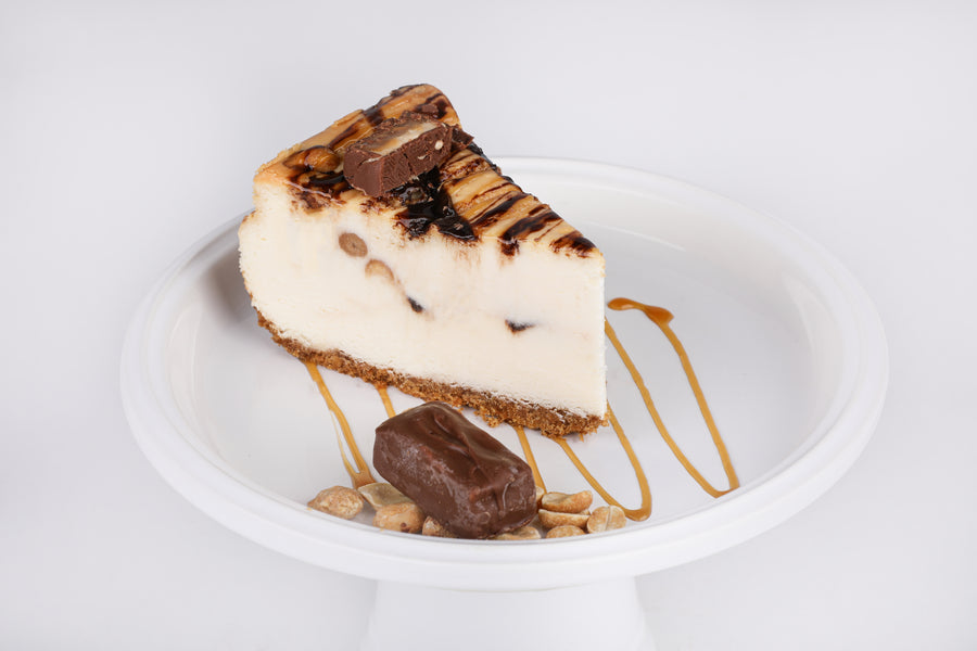 Snickers Cheesecake - Lucki's Gourmet