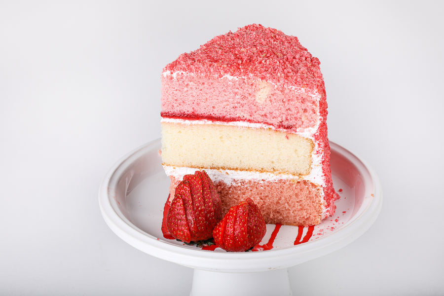 Strawberry Shortcake Cake - Lucki's Gourmet