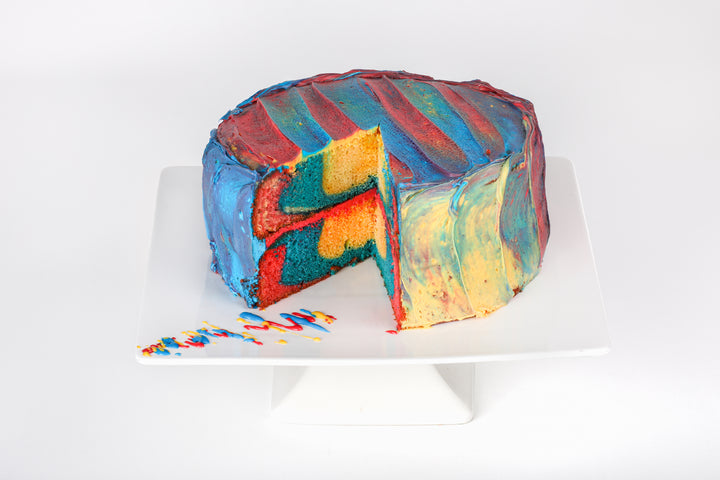 Superman Cake - Lucki's Gourmet