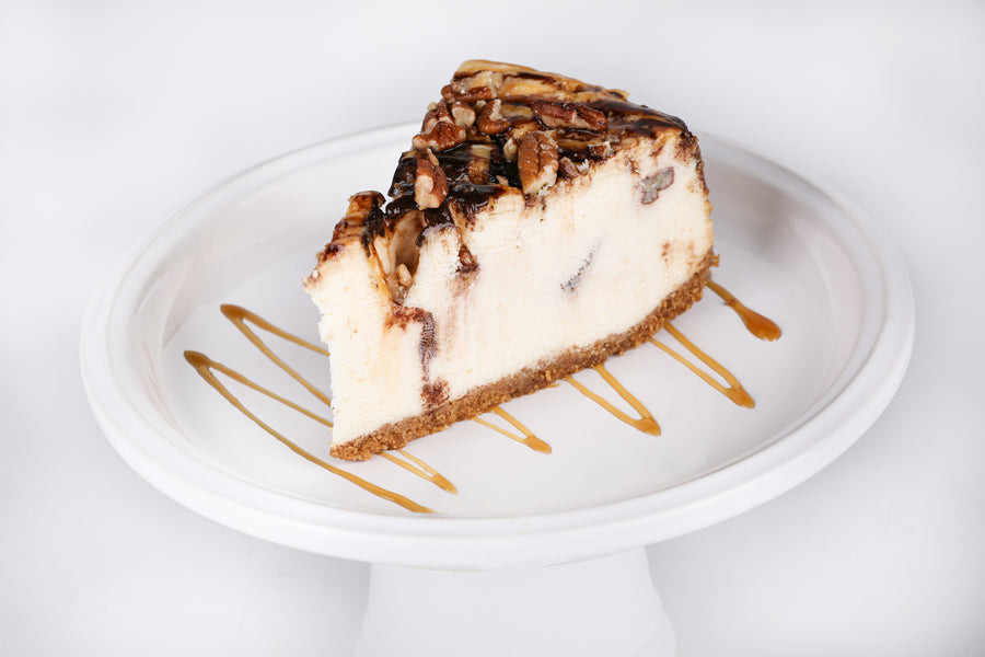 Turtle Cheesecake - Lucki's Gourmet