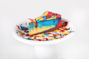 Superman Cheesecake - Lucki's Gourmet