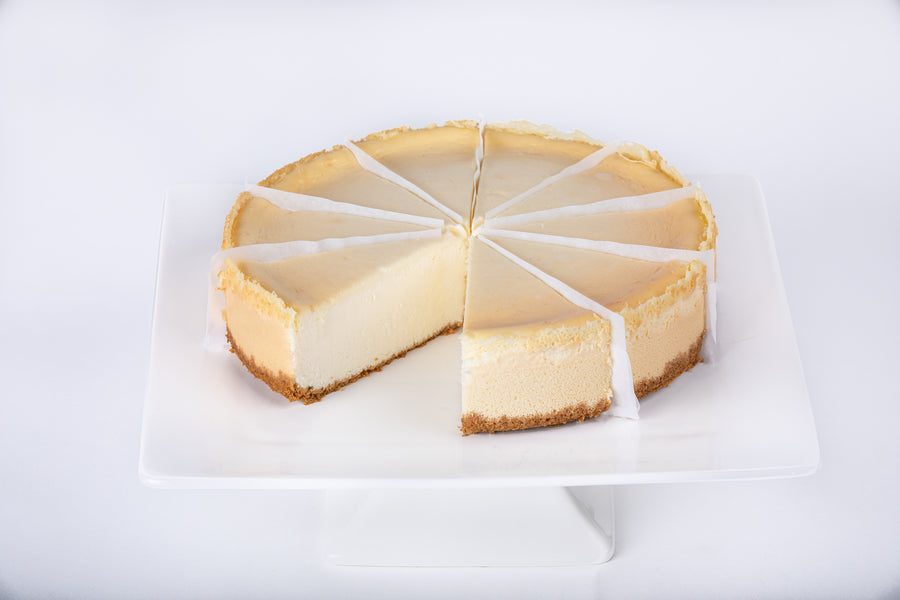 New York Style Cheesecake - Lucki's Gourmet