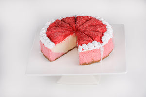 Strawberry Crunch Cheesecake - Lucki's Gourmet