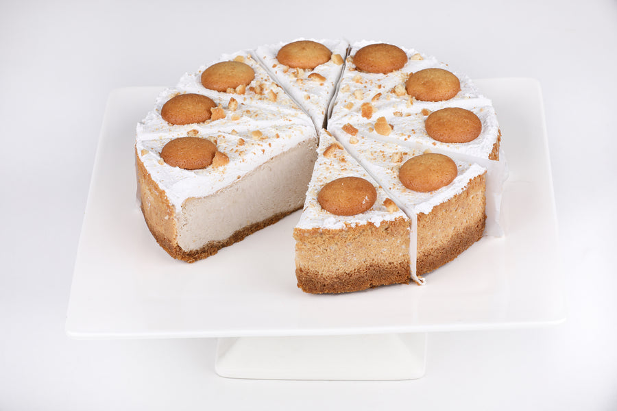 Banana Pudding Cheesecake - Lucki's Gourmet