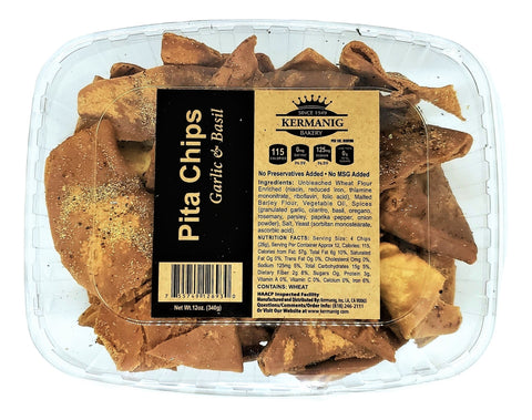 Pita Chips - Garlic & Basil