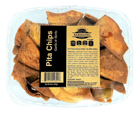 Pita Chips - Garlic & Herbs