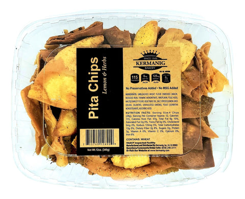 Pita Chips - Lemon & Herbs
