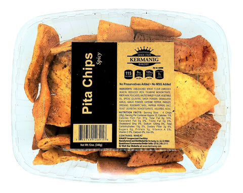 Pita Chips - Spicy