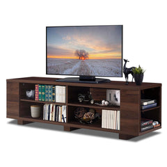 "59"" Wood TV Display Console Storage Cabinet"