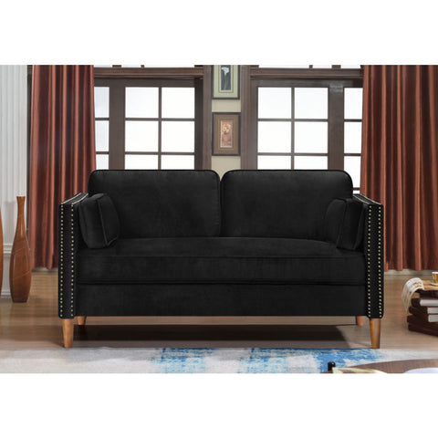 Loveseat Chair 2 Seat Sofa Classic Modern Design Living Bed Room Couch