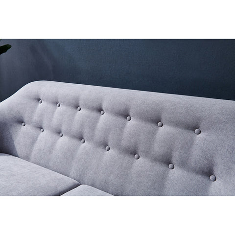 Nordic Modern Simple Light Luxury Solid Wood Frame Soft Sofa